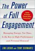 Power of Full Engagement book